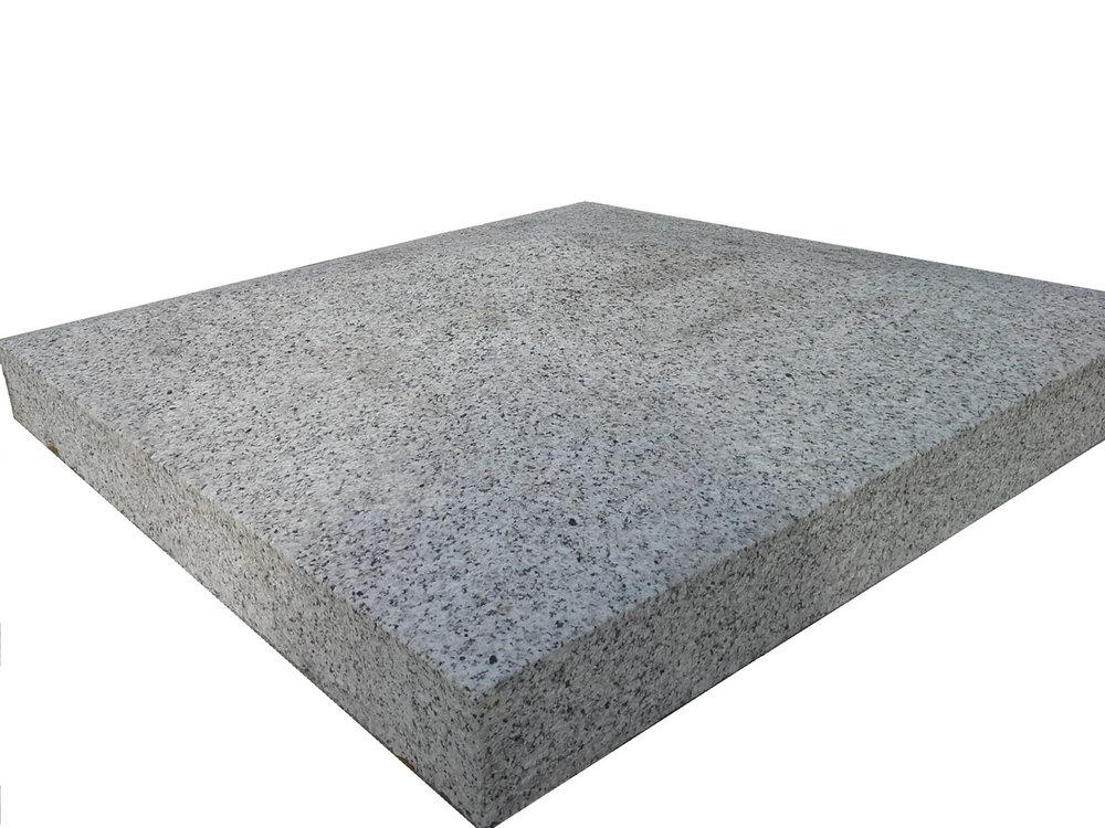 4no. 700x700x150mm grey granite apex caps - €250 in total