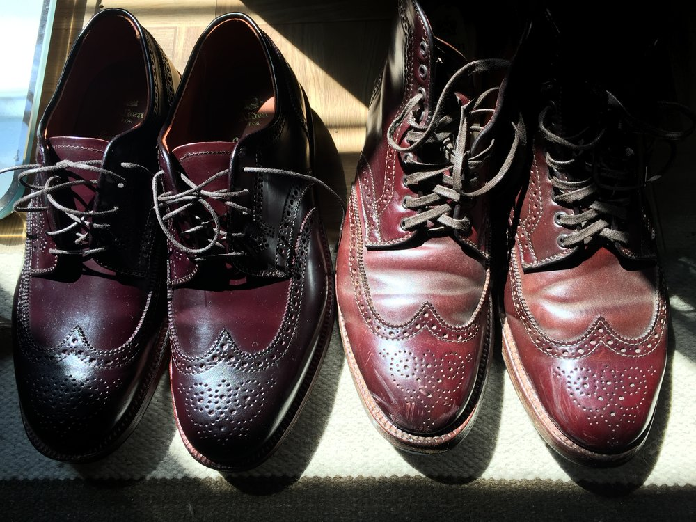The shoes on the right looked like those on the left when they were new. - Fresh data is like a new pair of shoes — the potential is there, but it takes time to really build the relationship.(So maybe I have a weird thing for leather shoes. So what?)