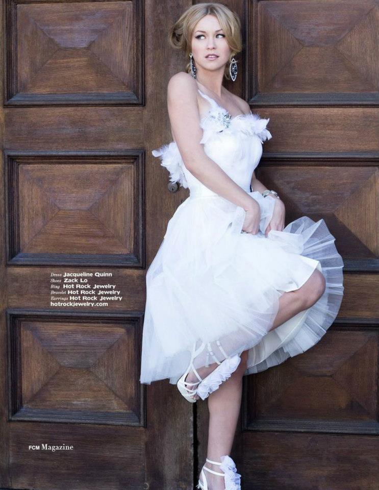 FCM MAGAZINE FEATURING COUTURE BY JACQUELINE QUINN