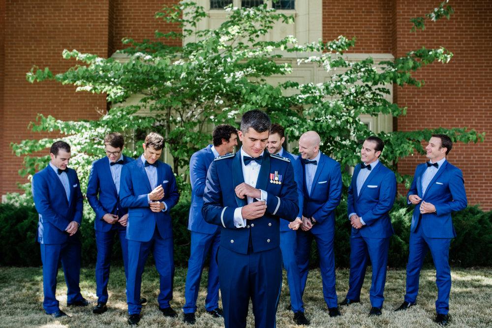Boise Wedding Photographer // Idaho engagement photographer // PNW Engagement // Wedding // Idaho bride // Natural Couples Posing Ideas // bridal party photos // large group posing //air force wedding // elegant wedding dress // groomsmen posing // groomsmen photo //boise basque center // catholic wedding // traditional wedding // church wedding // party reception // wedding reception dancing // simple wedding ideas // getting ready wedding // inn at 500 boise // boise couples photographer // SS Photography & Design // Sadie Shirts
