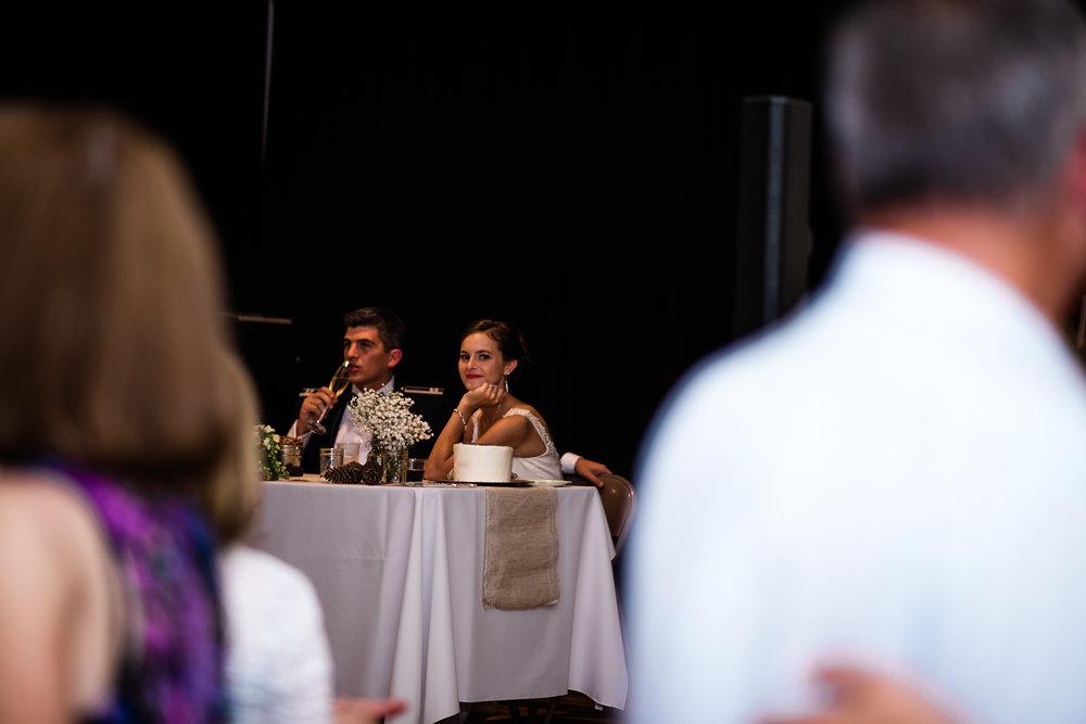 Boise Wedding Photographer // Idaho engagement photographer // PNW Engagement // Wedding // Idaho bride // Natural Couples Posing Ideas // reception photography // air force wedding // elegant wedding dress // open back wedding dress // boise basque center // catholic wedding // traditional wedding // church wedding // party reception // wedding reception dancing // simple wedding ideas // inn at 500 boise // boise couples photographer // SS Photography & Design // Sadie Shirts