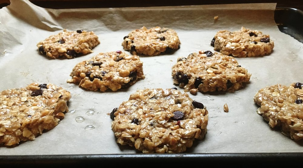 This is what the cookies should look like just before going into the oven,
