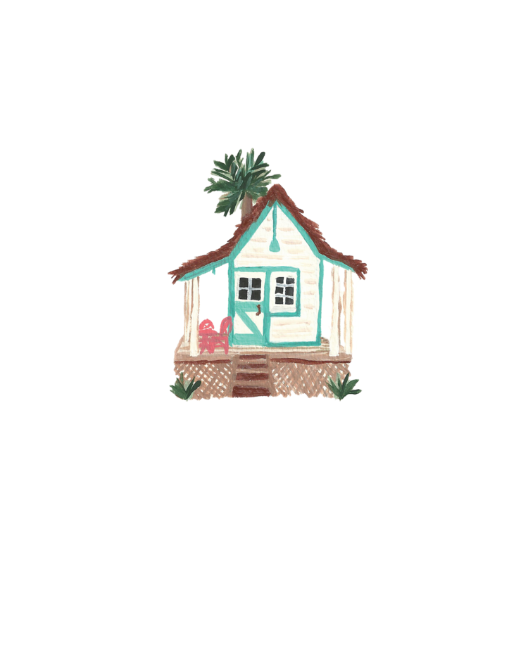 Beach Cottage by Paige Kershaw
