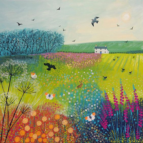 Midsummer Meadow by Jo Grundy