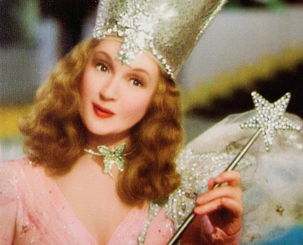 Glinda, the good witch, knows 'You Had the Power All Along, My Dear.""