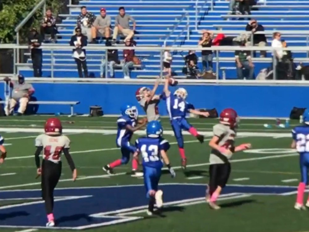 Cameron #14 - Look at that height after clearance!
