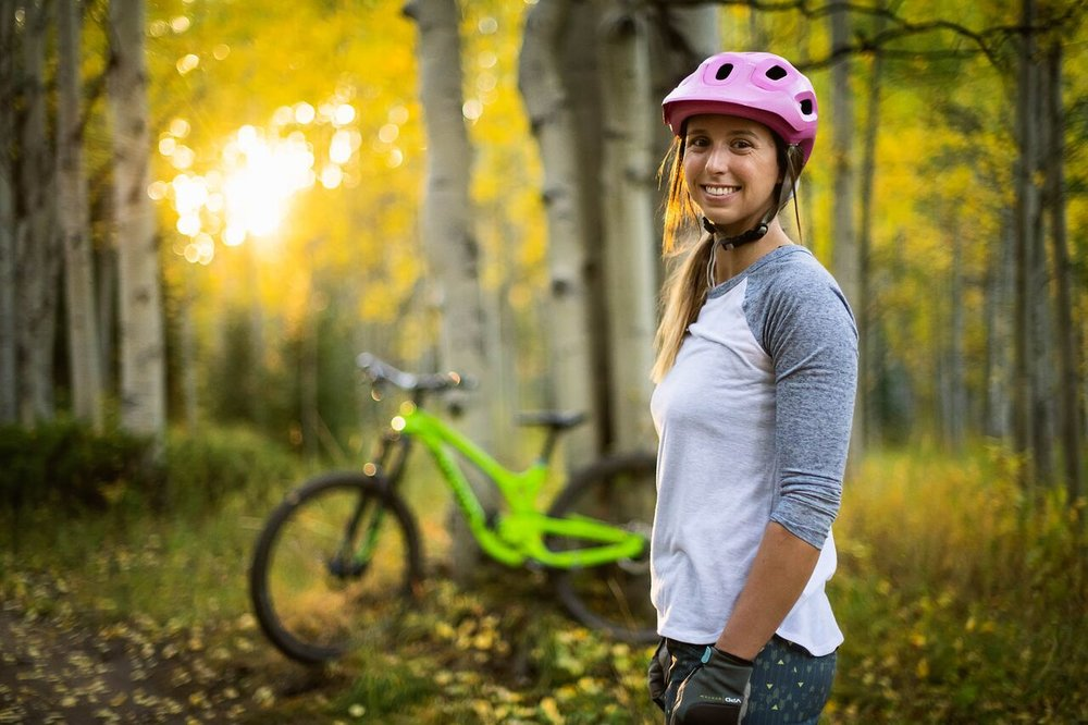 """""""Biking was my biggest push to recovery. Pedalling helps to keep your knee moving"""""""