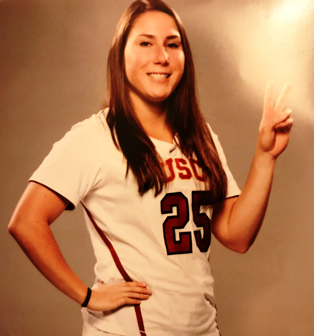 CAMILLE STAFFORD  was a competitive gymnast for 10 years, and played soccer since she was able to walk, but ultimately chose to pursue lacrosse at a collegiate level.