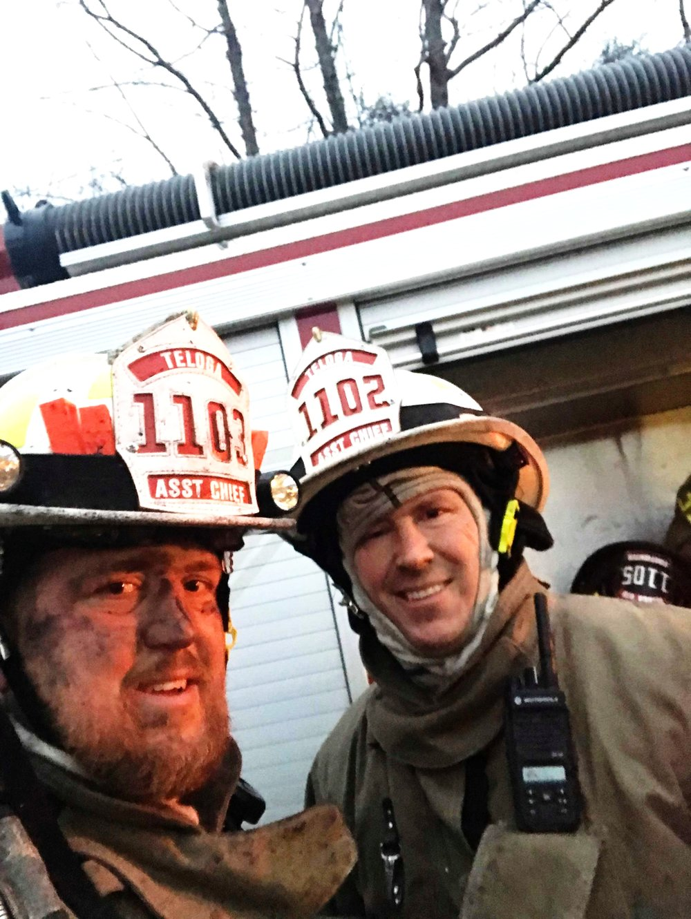 ANDY ROWE  is a 39-year old Assistant Chief of a firefighter department. He is also a private pilot and was previously in the army. He tore his ACL while fighting a house fire when part of the roof collapsed on his knee and is 13 weeks post-op.