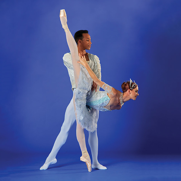 Danielle Brown and Ricardo Rhodes - Theme and Variations (choreographed by George Balanchine)