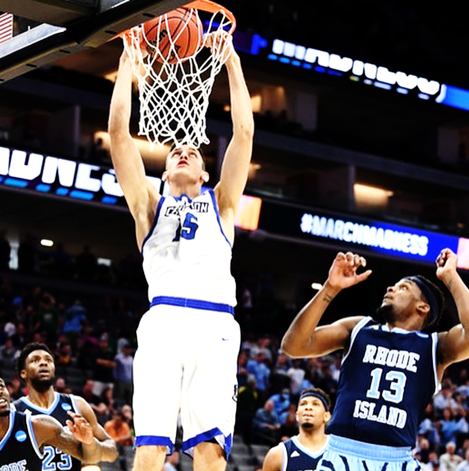 MARTIN KRAMPELJ  is an NCAA college basketball forward at Creighton University in Omaha, Nebraska. Despite 3 devastating ACL tears, Krampelj refuses to give up his love for the game of basketball, and is one of the rare elite athletes to make such an extraordinary comeback, feeling stronger than ever.
