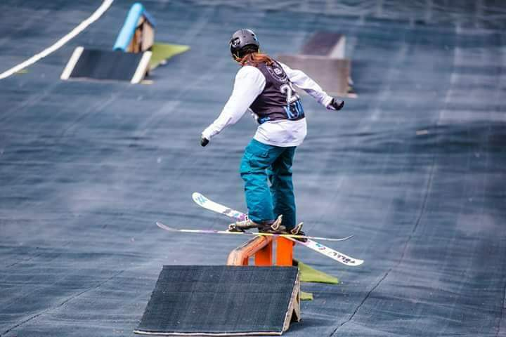 ELLA TAYLOR-TIPTON    is a 14 year-old skier from England and has been skiing since the age of 3. By the age of 5, was training at the Swadlincote Ski Centre, and competed in the Slalom Ski Race. By the age of 9, she won her first National Title. In 2017, she was the recipient of the Erewash Young Sportswoman of the Year. She is grateful for Snowsport England, Sportsaid, The Nottingham Building Society and her sponsors (The Snow Centre, Afterjam Collective and Odlo) for all their support.
