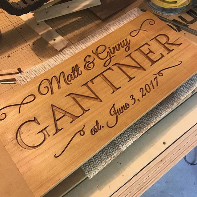 It's wedding season! We can make you and your true love a custom sign. Send us a message of interested.  #wedding #engagement #IntrinsicWeddingGifts #etsy #handmade #ohio