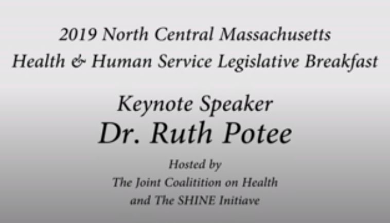 A recorded video of Dr. Potee's keynote presentation at the 2019 Joint Coalition On Health Legislative Breakfast. Special thank you to the Joint Coalition on Health for arranging to have this talk recorded.