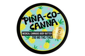 High Gorgeous PIÑA-CO-CANNA BODY BUTTER