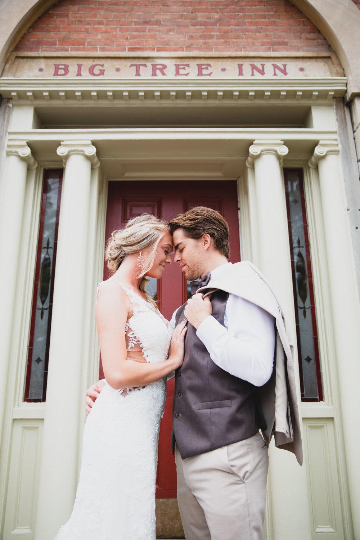 Weddings at the Big Tree Inn