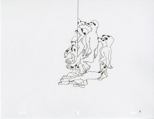 Anna Firth, Ghost Loop 1 (animation frame), 2018 — Patron Art House