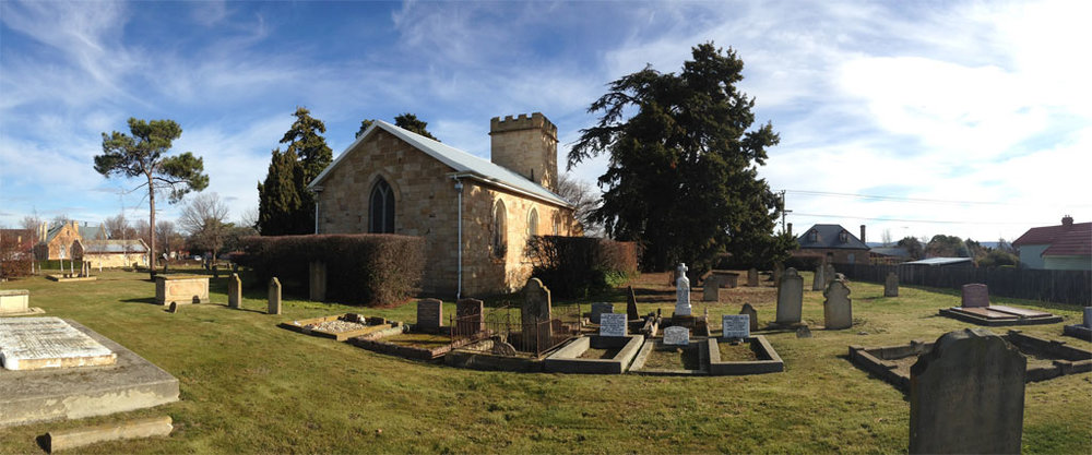 St Luke's Church at Bothwell, Tasmania. Photographed by Rudolf Ramseyer