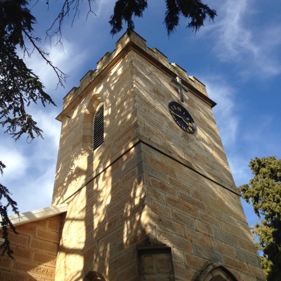 St Luke's church constructed of sandstone quarried from nearby hills. Image by  Rudolf Ramseyer