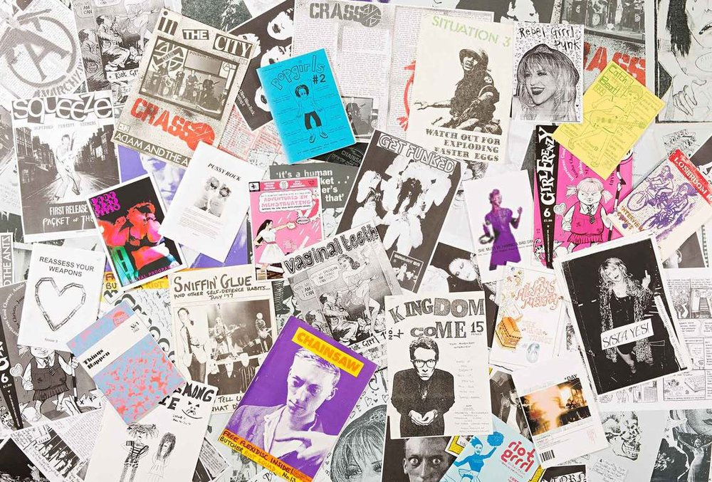 Riot Grrl zines |Source: ItsNiceThat