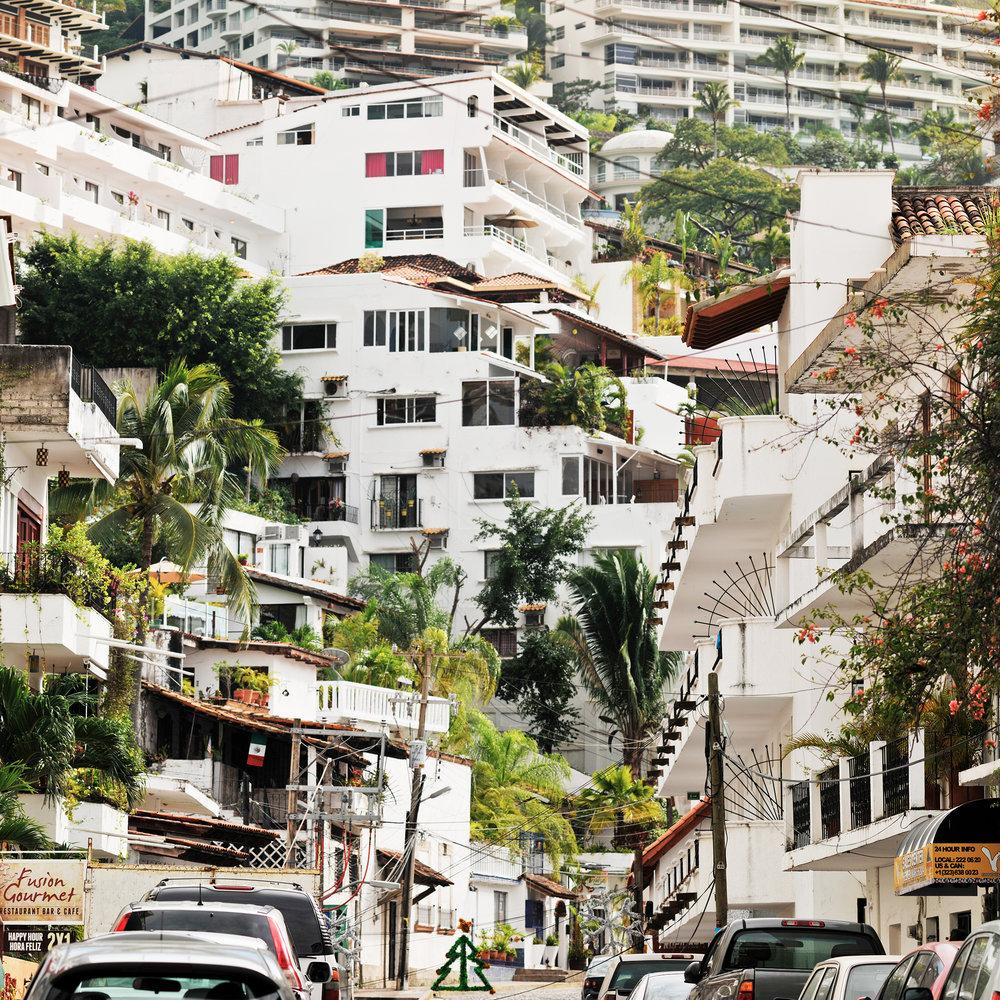 Cubist Hillside #2