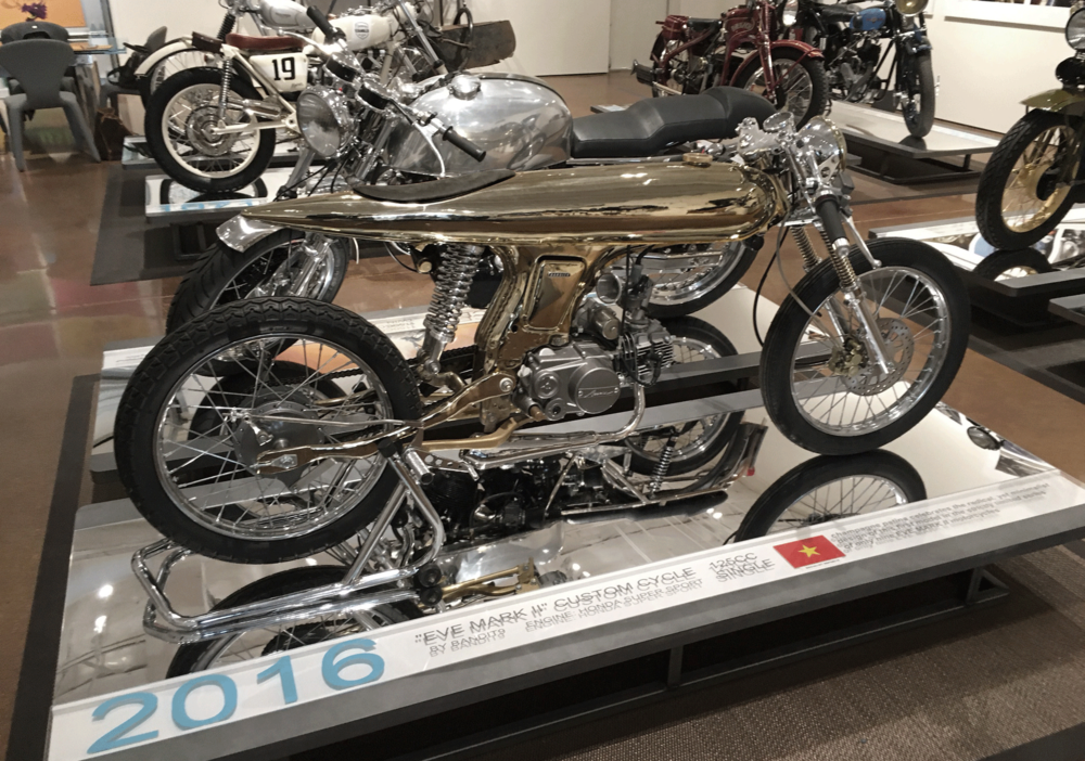 Haas Motorcycle Gallery, Dallas