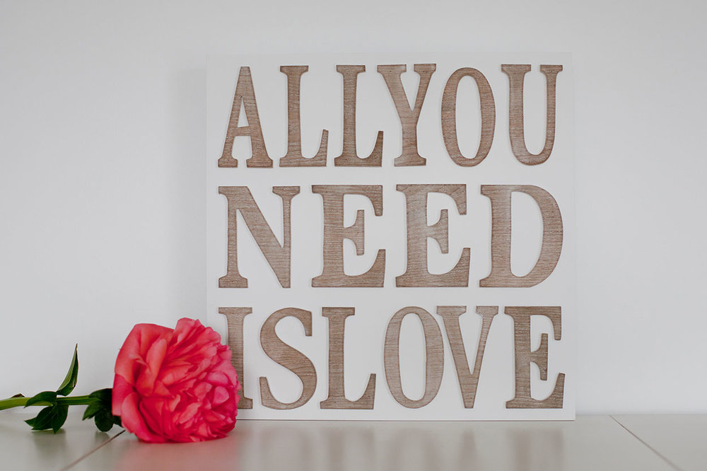All You Need Is Love - Sml