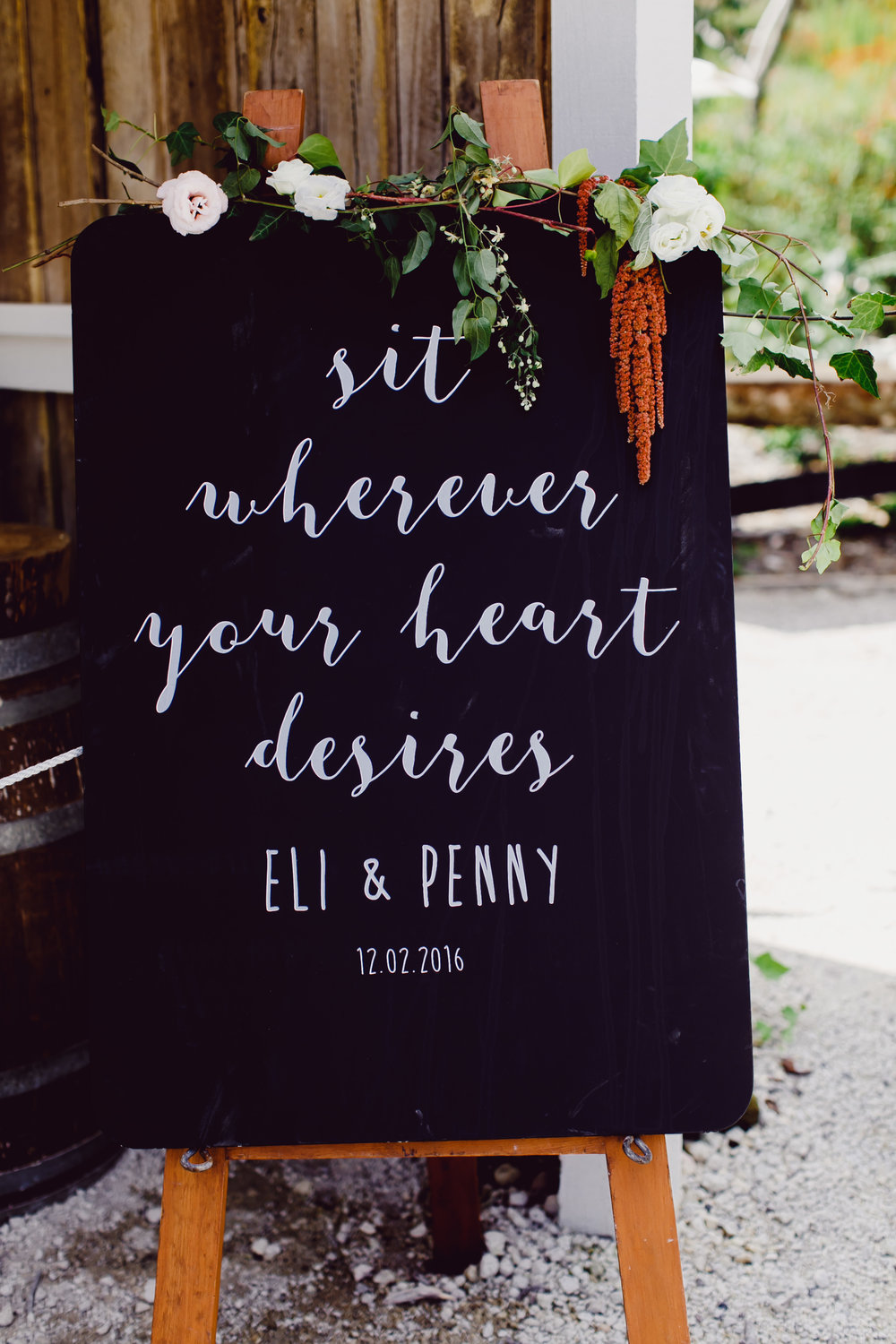 Sit Where Ever Your Heart Desires