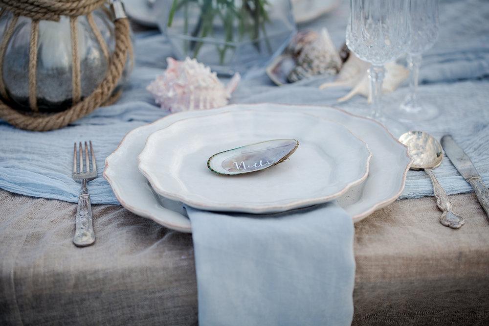 Dove Grey Linen Napkin