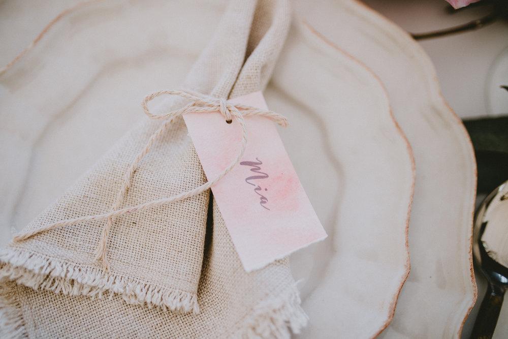 Linen Frayed Edge Napkin