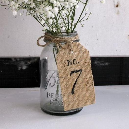 Hessian Tag Table Numbers