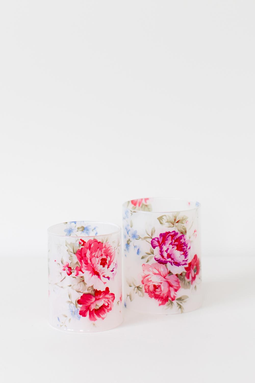 Floral Tealights - SML, LRG