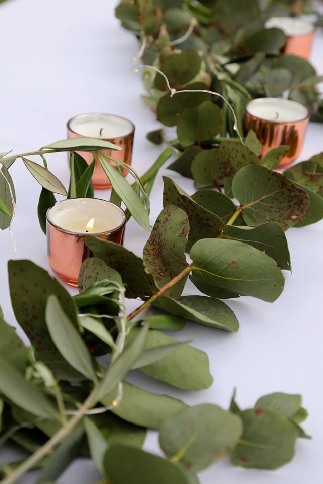 Rose Gold / Copper Tealights