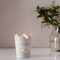 Lace Edge Votive