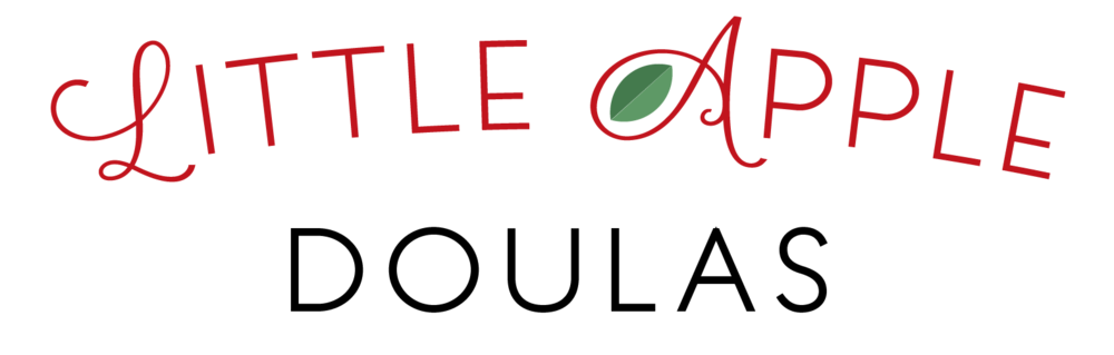 new logo - little apple doulas