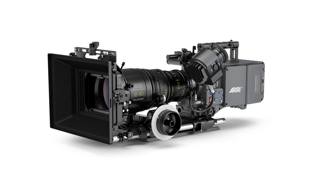 Arri alexa Sxt - 4k UHD14+ stops of dynamic range16bit in-camera processing Up to 120 fps in full resolutionRecord in ProRes, Arri OpenGate or ARRIRAW