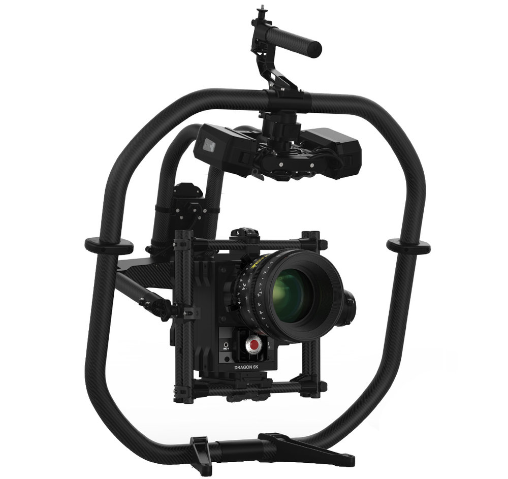 Freefly Movi pro - $400/day3-Axis Motorized Gimbal StabilizerMIMIC & MoVI Remote Control15lb max payload14 batteries includedIntegrated power for RED & lens control