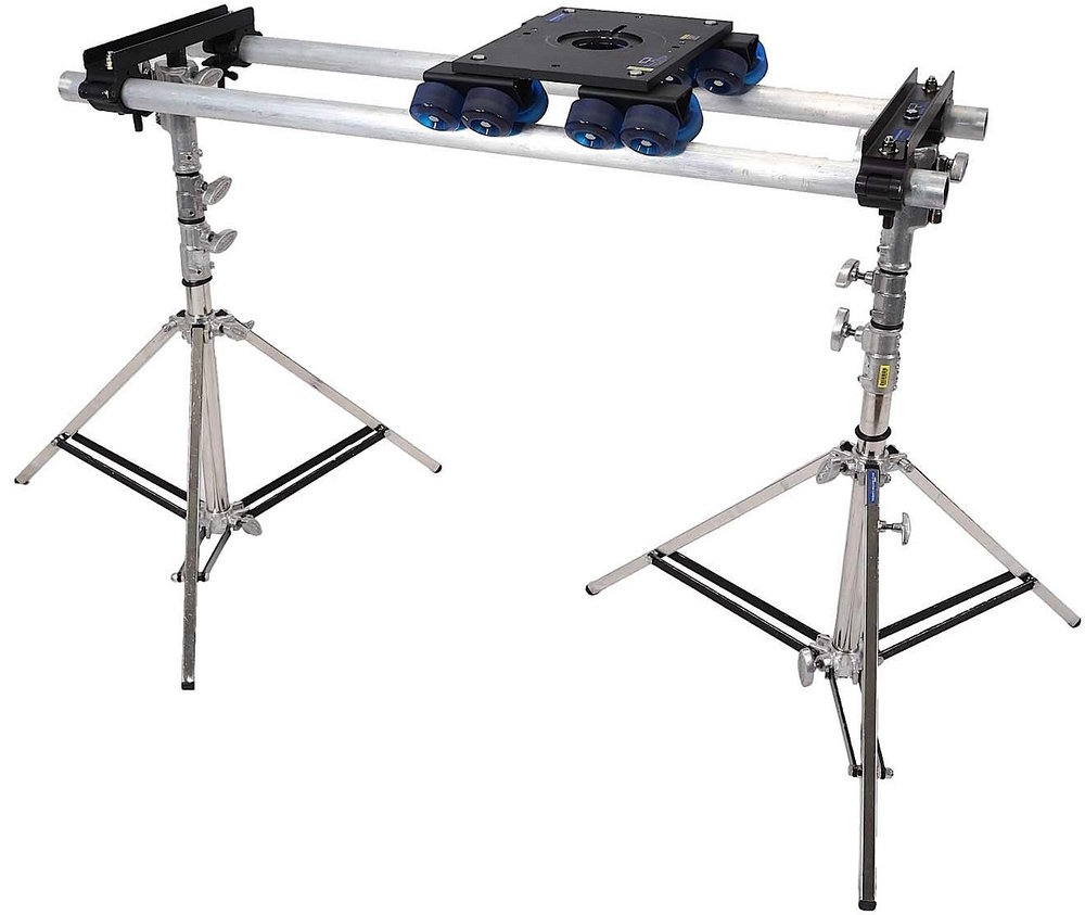 Dana Dolly - $150/day6',8', or 12' pipeCompatible with 75mm, 100mm & 150mm heads2 - combo stands