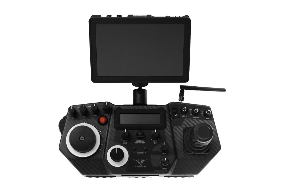 Movi controller - $350/dayProfessional grade remote systemPan,Tilt &Roll ControlFocus, Iris & Zoom ControlCompatible w/MoVI M10, M15, MoVi Pro & MoVi XLFull RED Camera RCP ControlControl up too 1000' away