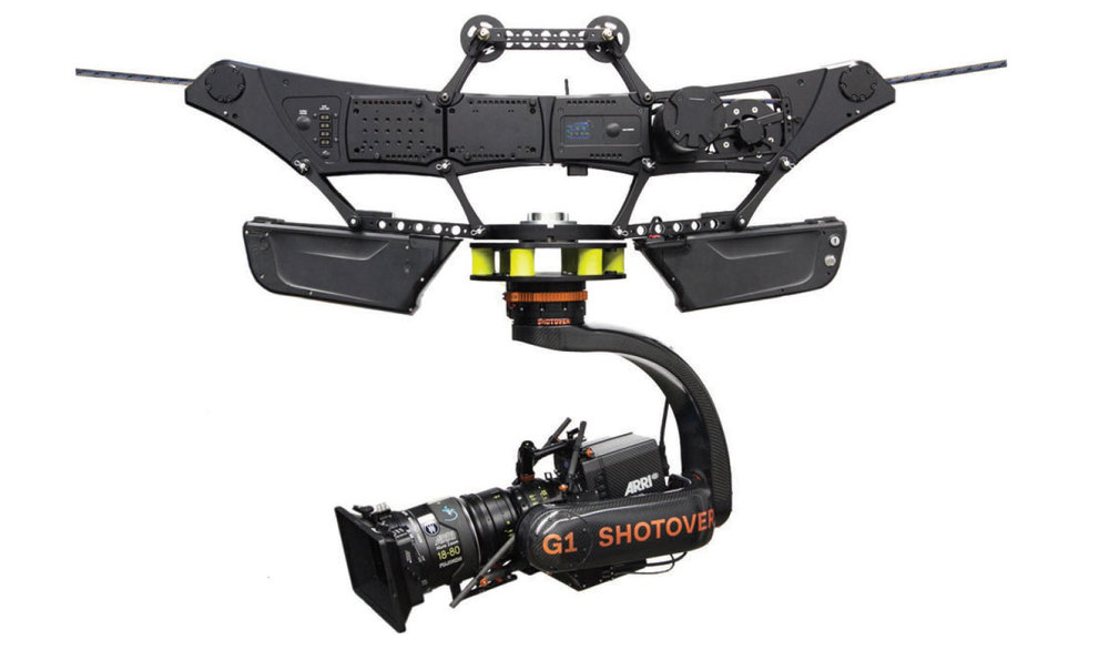Dactylcam pro - $2,500/dayCable runs up to 1000'Compatible with the MoVi XL,MoVi Pro & Ronin.100lb max payload30mph top speed