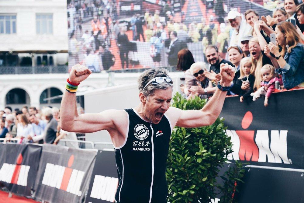 Marcel Rath:  Ironman Debüt 2017 Hamburg