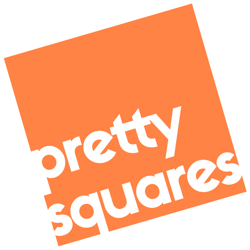 - Pretty Squares delivers visual content to you online, ready for use in social media or print. Choose from one of our packages or get in touch and let's create in just three simple steps.