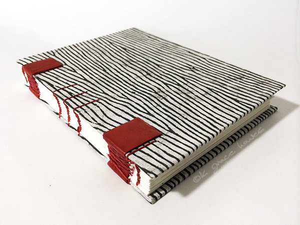 Celtic Weave Red Leather Sketchbook |SPECTRUM
