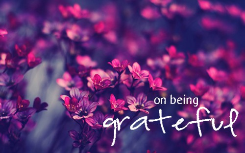 On Being Grateful - Journal Your Gratefuls