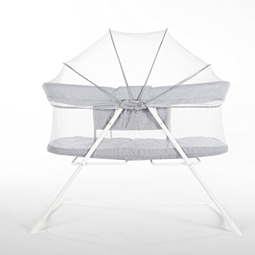 LUCKUP foldable crib