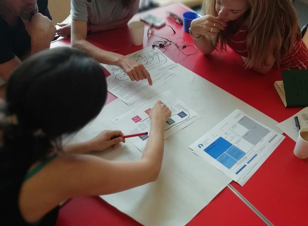 Teachers building on the framework we provide