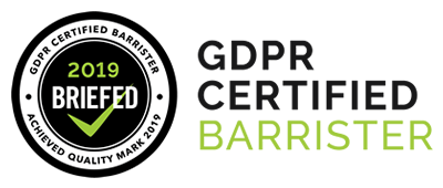 GDPR Certified Barrister Banner 400x170