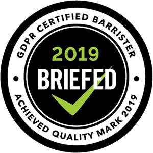 GDPR Certified Barrister Badge 300x300