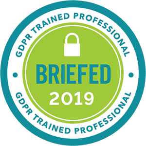 GDPR Trained Professional Badge 300x300