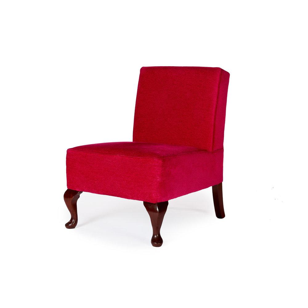Attirant Hot Pink, Llandudno Occasional Chair. 1,475.00. UC01 710_angle_2